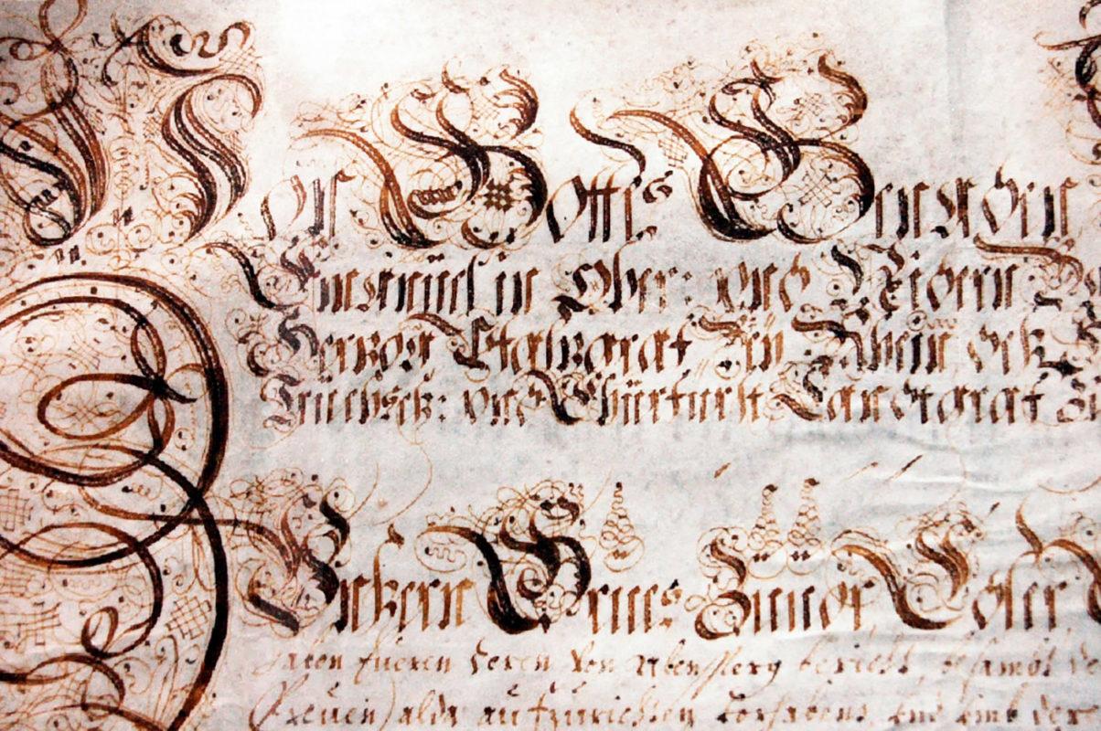 Schmuckreiche Handschrift